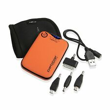 Veho Pebble Verto Portable Charger 3700mah - Orange