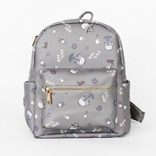 Studio Ghibli Anime My Neighbor Totoro Backpack Canvas Student Shoulder Bag A