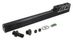 AEM 25-100BK Black High Volume Fuel Rail for 1994-01 Acura Integra B16A B18C
