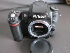 Nikon D D80 10.2MP Digital SLR-Negra (solo Cuerpo)