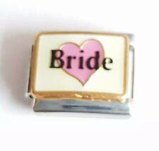 Bride Italian Charm Bracelet Charms Link
