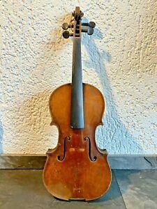 Geige Stradiuarius Dachboden Fund antik 1793 Violine Holz Musik Instrument