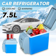 12V Portable Electric Car Fridge Refrigerator Cooler Warmer Travel Camping  7.5L