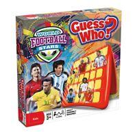 Hasbro le Monde Football Stars Thème Guess Who Junior Amusant 2 Lecteur Jeu