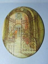 Four Painted Plaster Tiles of New Orleans_3764