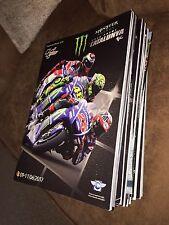 2017 CATALUNYA/SPANISH MOTOGP RACE PROGRAMME. New. Rossi/Marquez