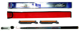 Tenkara Style 10ft Telescopic Pole Rod Zoom Butt CS + 2 Line Winder