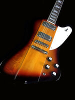 NEW  6 STRING 2018 MD. F-BIRD STYLE ELECTRIC SUNBURST ELECTRIC GUITAR