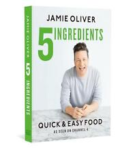 NEW 5 Ingredients - Quick & Easy Food by Jamie Oliver Hardcover (Free Shipping)