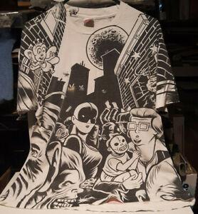 IGGY POP BRiCK BY BRiCK PROMOTiONAL T-SHiRT SiZE XL ViRGiN RECORDS 1990 PROMO