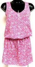 Calvin Klein CK Ladies Pink & White XL Floral Casual Dress / Tunic BNWT