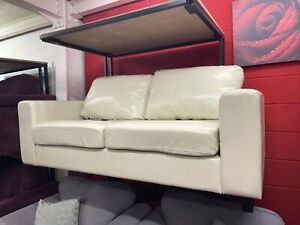 Ivory 2 Seat Sofa & Armchair (2287)  **Offer Price**
