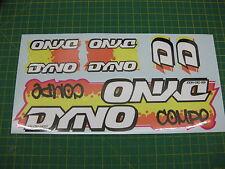 Set di Dyno compe bmx adesivi Arancione / Giallo