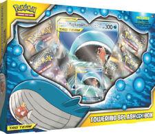 Towering Splash GX Box Pokemon TCG Magikarp & Wailord GX Collection 4 Boosters