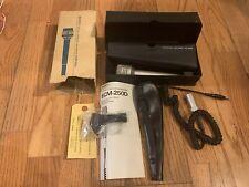 Sony ECM 250 Electret Condenser Microphone Vintage Retro ECM-250D Original Japan