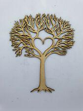 MDF Family Tree Laser Cut Wooden Craft Blank Wedding Tree 20