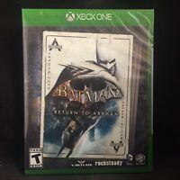 Batman: Return to Arkham (Microsoft Xbox One, 2016) Brand New / Region Free