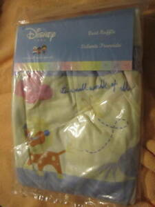 Disney crib Dust Ruffle It's a small world after all NIB