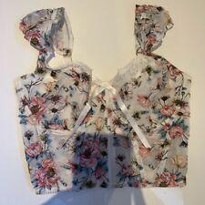 victoria's secret dream angels unlined white corset top bra 36C Brand New