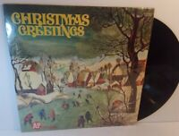 Christmas Greetings LP Columbia CSS 1499 Stereo A&P Grocery Stores SHRINK