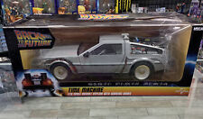 NECA Back to the Future DeLorean Time Machine 1:16 Diecast w/Working Doors - NEW