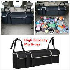 Trunk Cargo Organizer Bag High Capacity Car Backseat Storage Bag For Truck SUV