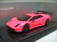 1:64 Kyosho Lamborghini Murcielago Murciélago R-GT 2008-2009 Matte Pink Dealer