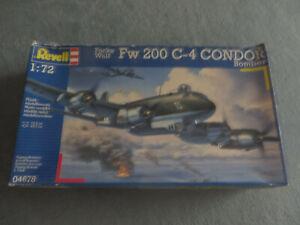 ~*~Revell - FOCKE-WULF FW 200 C-4 CONDOR BOMBER 1/72~*~