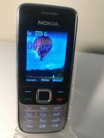 Nokia Classic 2730 - Black & Silver (Unlocked) Mobile Phone 2730c