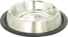 Bergan Stainless Steel Bowl W Ridges, Heavy Duty Non-Skid