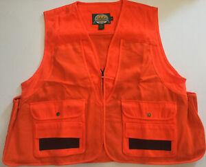 Cabela's Blaze Orange Vest 2xl Hunting Safety