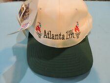 Vintage Atlanta 1996 Olympic Games USA Embroidered Logo Snapback Hat Cap