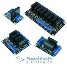 1/2/4/8 Channel 5 V Solid State Relay Board SSR Raspberry Pi Arduino PIC