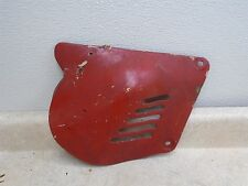 Suzuki RM100 RM125 Used Right Side Cover Panel 1977 HB258