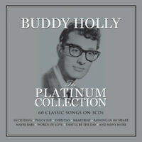 BUDDY HOLLY - THE PLATINUM COLLECTION - 3 CDS - NEW!!