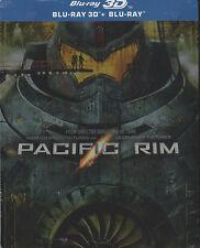 Pacific Rim 3D, geprägtes Blu Ray Steelbook, OOP, NEU & OVP