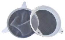 Honey Strainer / Double Plastic and Nylon Strainer