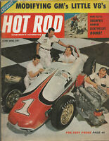 Vintage HOT ROD Magazine June 1961 Issue