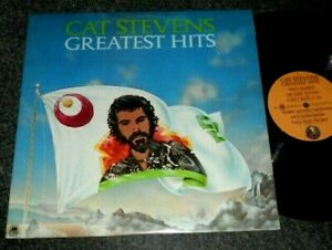 CAT STEVENS GREATEST HITS COMPILATION CLASSIC ROCK LP W/ POSTER A & M #SP 4519