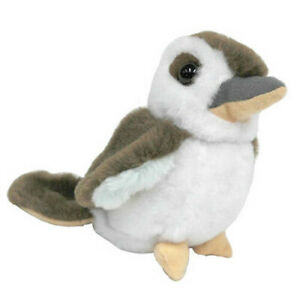 15cm Jumback Kookaburra With Sound Soft Animal Plush Toy Stuffed Animal Toy