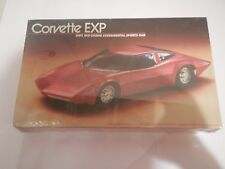 Lindberg Corvette EXP 1/18 Model Kit GM's Mid-Engine Experimental Sports Car