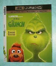 THE GRINCH  4K Blu ray slipcover