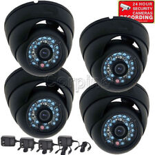 4x Security Cameras w/ SONY CCD IR Outdoor Day Night Wide Angle Surveillance mh8