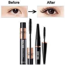 2PCS Waterproof DDK 4D Silk Fiber Lash Mascara Eyelashes Long Extension Cosmetic