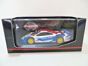 MINICHAMPS 'McLAREN G1 GTR, BRITISH GT CHAMPIONSHIP 1999'. 1:43. MIB/BOXED