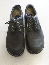SIMPLE black leather casual oxfords, Men's 8.5 M (eur 41.5)