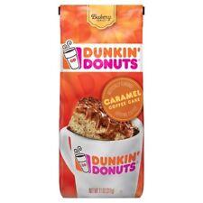 NEW SEALED DUNKIN DONUTS CARAMEL COFFEE CAKE GROUND COFFEE 11 OZ