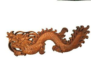 Carved Wooden Dragon For Home Decoration For Prosperity Beautiful As A souvenir