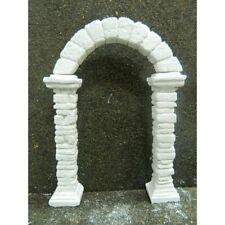 Colonne con Arco in Gesso 13x18 Cm Porta Arcata Tempio Pastori Presepe
