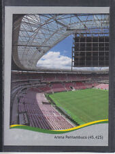 Panini - Brazil 2014 World Cup - # 24 Arena Pernambuco - Platinum